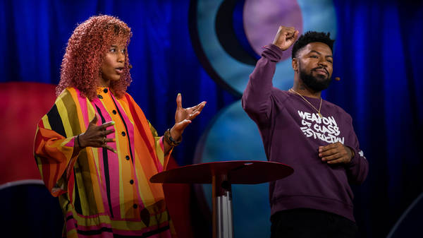 A love story about the power of art as organizing   Aja Monet and phillip agnew