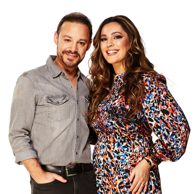 JK and Kelly Brook