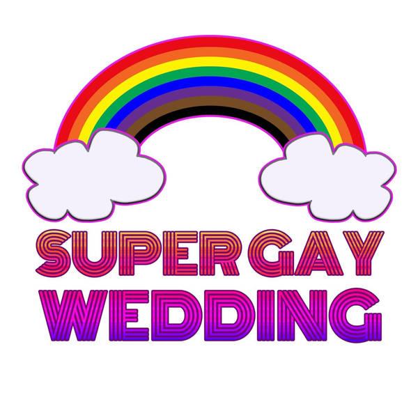 Super Gay Wedding image